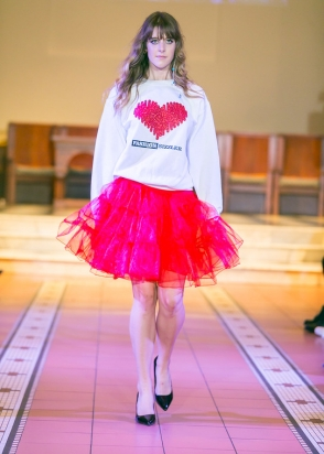 Fashion Sizzler  Heart Sweatshirt